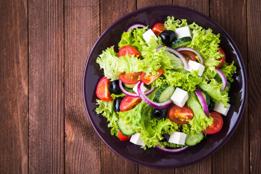 Use a salad spinner to keep lettuce crisp and dry. No watery dressing here!