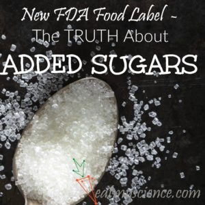 New FDA Food Label – The Truth About Added Sugars