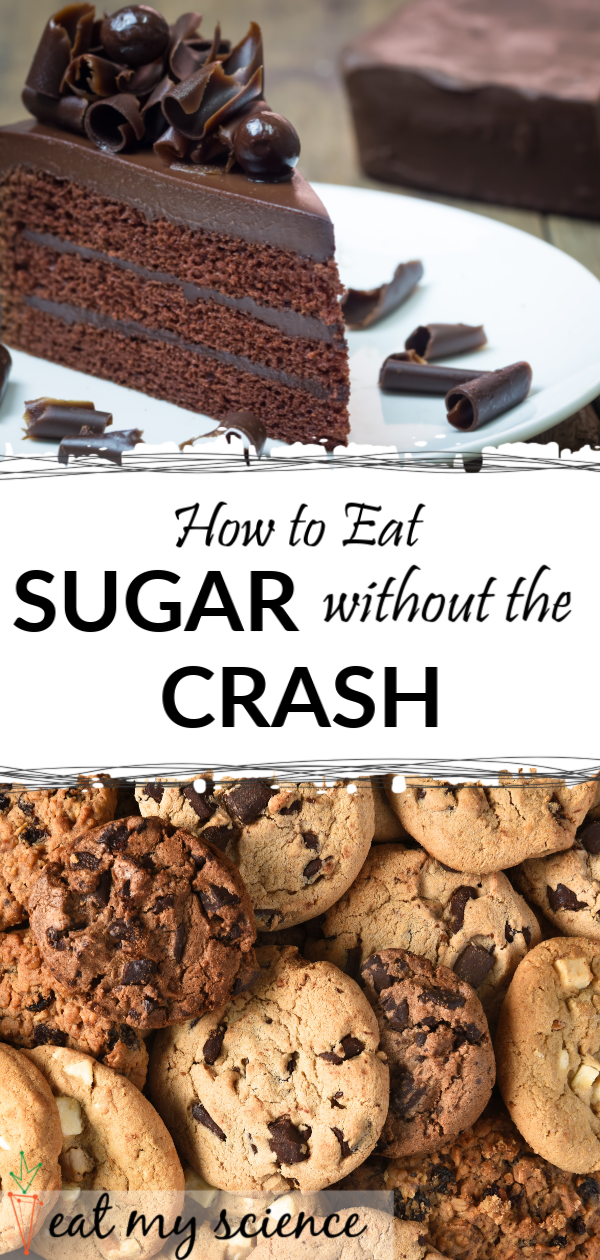 Sugar Crash: How to eat sugar without the crash. #sugarcrash #sugar #sugarcraving