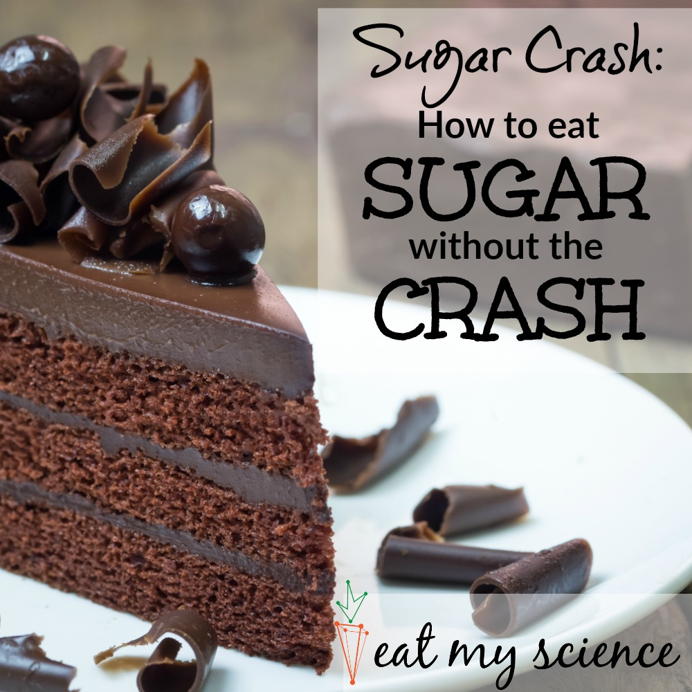 Sugar Crash: How to eat sugar without the crash. #sugarcrash #sugar #sugarcraving